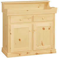 Country Cabinet Dry Sink 2 Drawer/2 Door