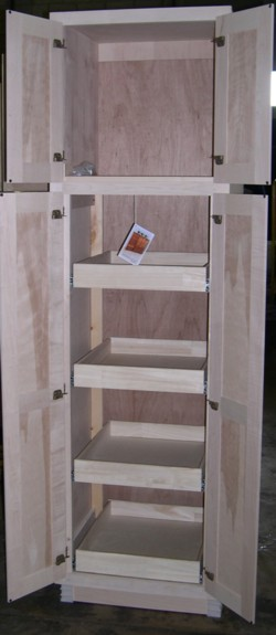Pantry Cabinet: Utility Pantry Cabinet with Kitchen Pantry ...