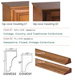 Cove: Cove Moulding, 8-Foot Piece