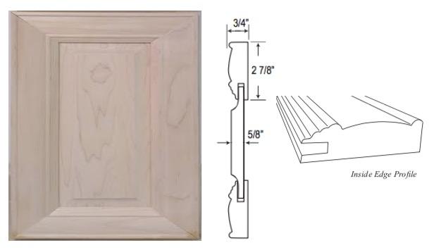 Custom Mitered Raised-Panel Door
