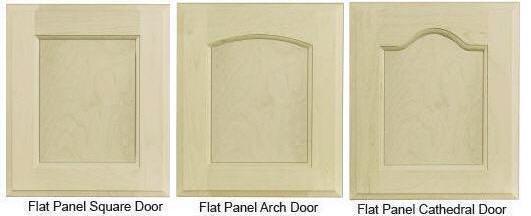 Custom Flat-Panel Door