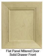 """Custom Mitered Flat-Panel """"2"""" Door"""