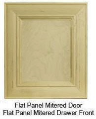 "Custom Mitered Flat-Panel ""1"" Door"