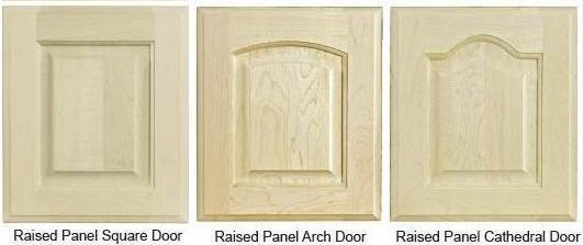 Custom Raised-Panel Door