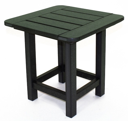 "Outdoor, Square Side Table, 18""W x 18""L x 18""H"