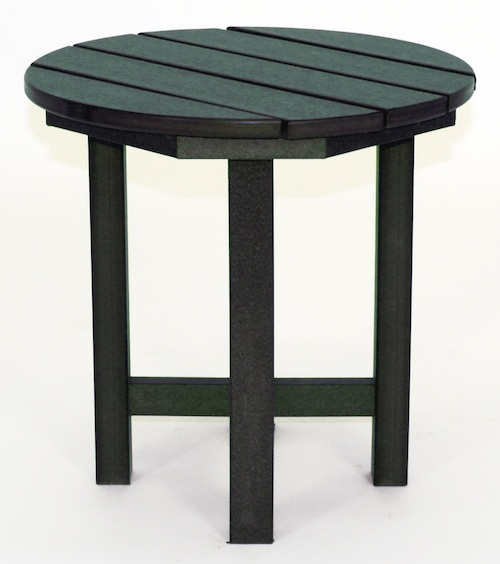 "Outdoor, Round Side Table, 18""W x 18""L x 18""H"