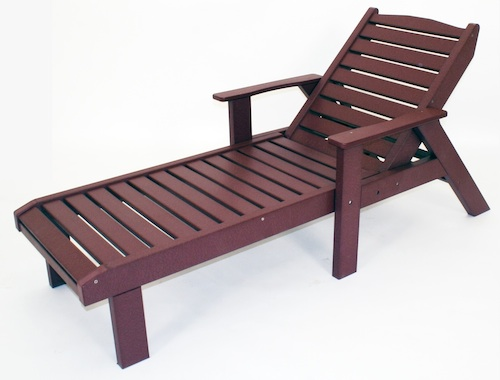 "Outdoor, Lounge Chair, 30""W x 38""H x 74-1/2""L"