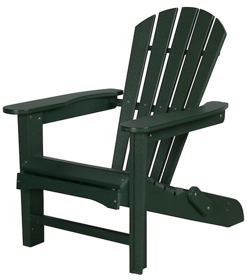 "Outdoor, Adirondack 20"" Folding Chair, 28""W x 36""H x 37""D"