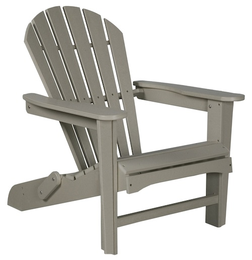 "Outdoor, Adirondack 22"" Folding Chair, 30""W x 36""H x 37""D"