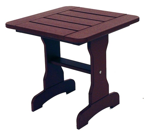 "Outdoor, Side Table, 18""W x 18""L x 18""H"