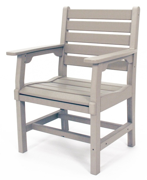 "Outdoor, Regent Dining Arm Chair, 26""W x 36""H x 22""D"