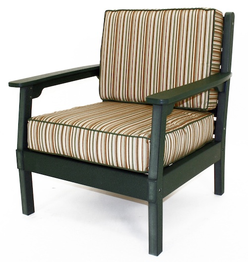 "Outdoor, Regent Club Chair, 30-1/2""w x 34-1/2""H x 28-1/2""D"