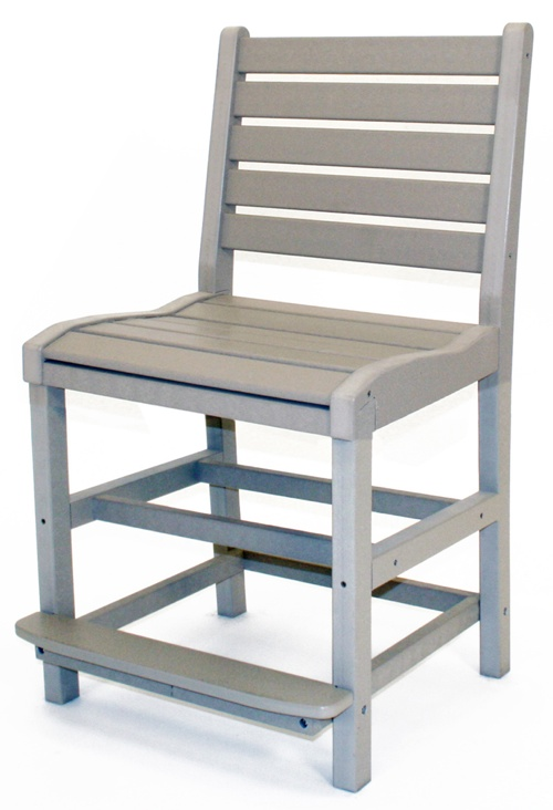 "Outdoor, Counter Chair, 23""W x 42""H x 22""D"