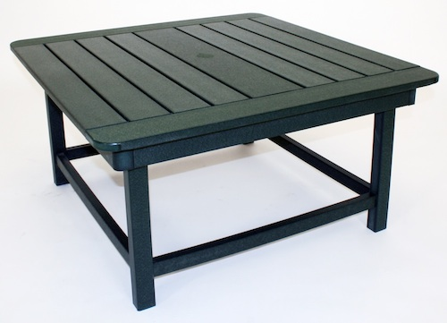 "Outdoor, 36"" Square Cocktail Table, 36""W x 36""L x 18""H"